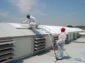 Instalación de Laca de Control Solar