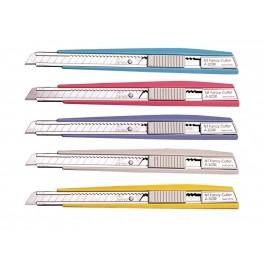 Cutter NT Plastico Colores Grueso