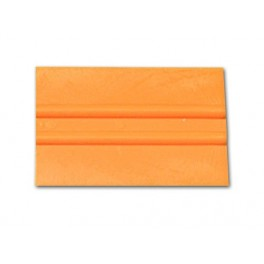 Espatula Lidco Standard 4'' Naranja Esq. cuadradas
